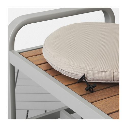 FRÖSÖN/DUVHOLMEN - chair cushion, outdoor, beige | IKEA Hong Kong and Macau - PE674539_S4