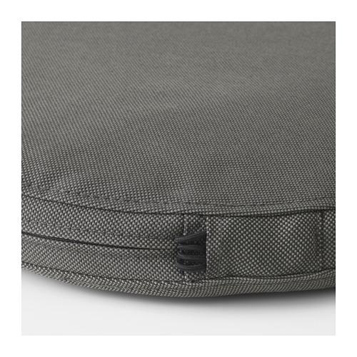 FRÖSÖN/DUVHOLMEN - chair cushion, outdoor, dark grey | IKEA Hong Kong and Macau - PE674540_S4