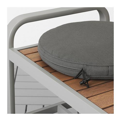 FRÖSÖN/DUVHOLMEN - chair cushion, outdoor, dark grey | IKEA Hong Kong and Macau - PE674541_S4