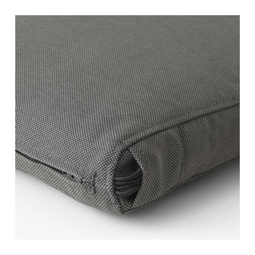 FRÖSÖN/DUVHOLMEN - chair cushion, outdoor, dark grey | IKEA Hong Kong and Macau - PE674546_S4