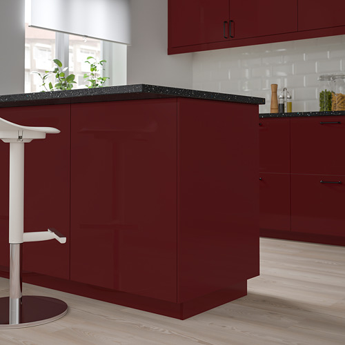 KALLARP - cover panel, high-gloss dark red-brown | IKEA Hong Kong and Macau - PE764768_S4