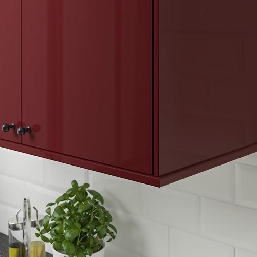 KALLARP - 圓角修飾條/牆線, 光面 深紅褐色 | IKEA 香港及澳門 - PE764771_S4