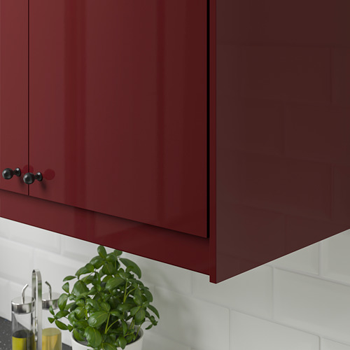 KALLARP - rounded deco strip/moulding, high-gloss dark red-brown | IKEA Hong Kong and Macau - PE764776_S4