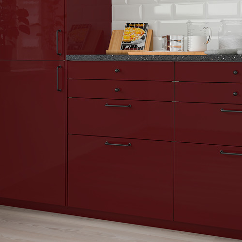 KALLARP - drawer front, high-gloss dark red-brown | IKEA Hong Kong and Macau - PE764772_S4