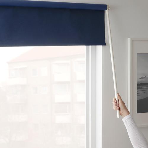 FRIDANS - block-out roller blind, 100x195cm, blue | IKEA Hong Kong and Macau - PE672900_S4