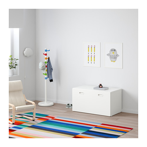FRITIDS/STUVA bench with toy storage