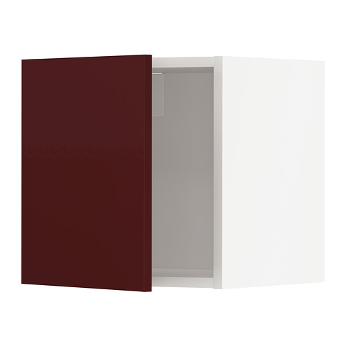 METOD - 吊櫃, 白色 Kallarp/光面 深紅褐色 | IKEA 香港及澳門 - PE764923_S4