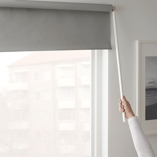 FRIDANS - block-out roller blind, 120x195cm, grey | IKEA Hong Kong and Macau - PE672902_S4
