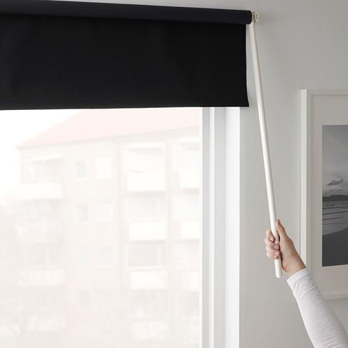 FRIDANS - block-out roller blind, 120x195cm, black | IKEA Hong Kong and Macau - PE672895_S4