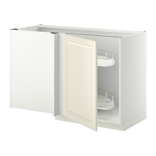 METOD - 角位地櫃連拉出式配件, white/Bodbyn off-white | IKEA 香港及澳門 - PE345401_S4
