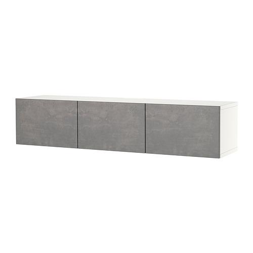 BESTÅ - 電視几連門, white/Kallviken dark grey | IKEA 香港及澳門 - PE820417_S4