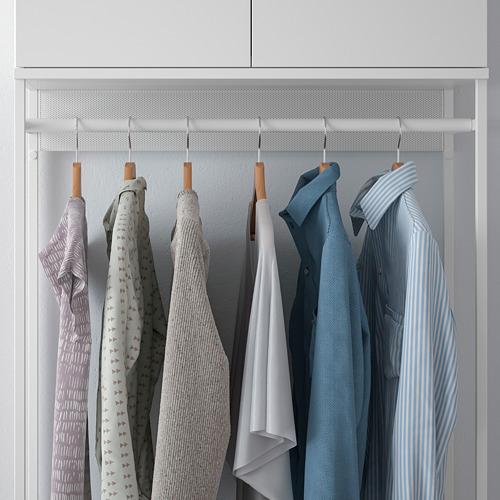 PLATSA - 雙門衣櫃連3格抽屜, 白色/Fonnes 白色 | IKEA 香港及澳門 - PE766216_S4