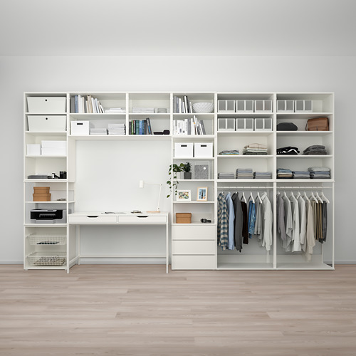 PLATSA - storage comb w 6 doors+3 drawers, white/Fonnes white | IKEA Hong Kong and Macau - PE766239_S4