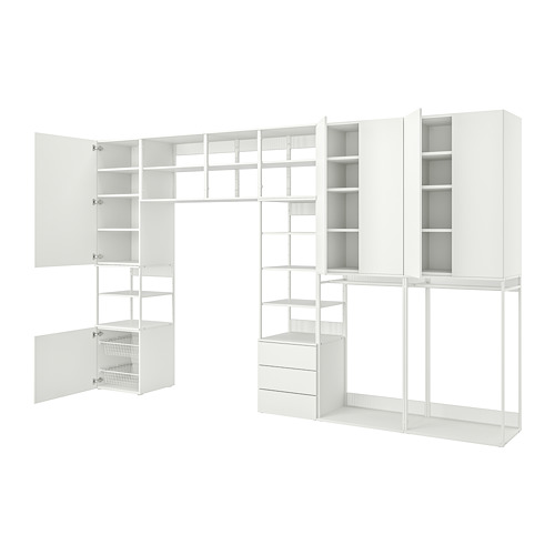 PLATSA - storage comb w 6 doors+3 drawers, white/Fonnes white | IKEA Hong Kong and Macau - PE766240_S4