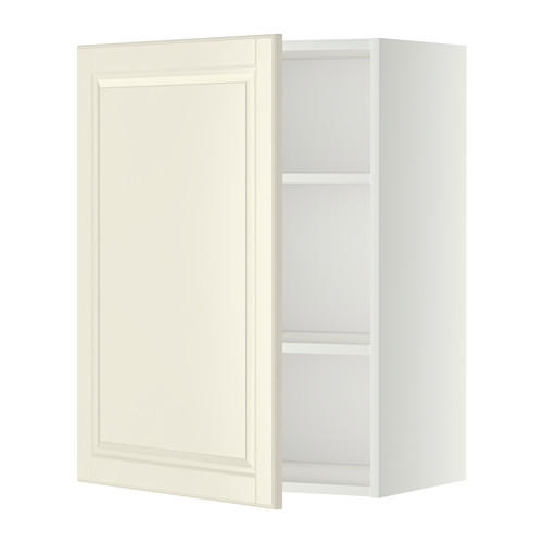 METOD - wall cabinet with shelves, white/Bodbyn off-white | IKEA Hong Kong and Macau - PE345729_S4
