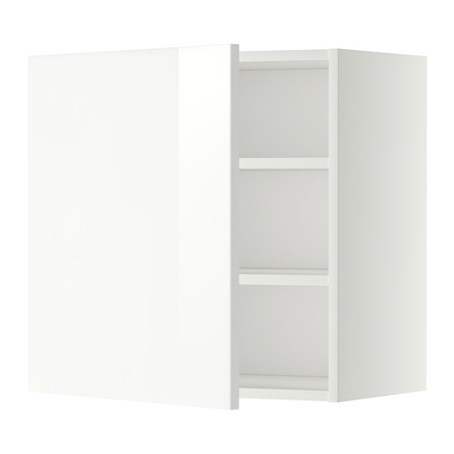 METOD - wall cabinet with shelves, white/Ringhult white | IKEA Hong Kong and Macau - PE345621_S4