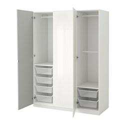 PAX - 衣櫃, 白色/Fardal Vikedal | IKEA 香港及澳門 - PE562781_S3