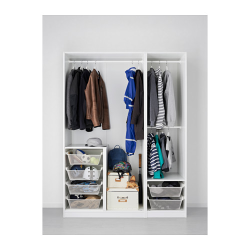 PAX - 衣櫃, 白色/Fardal Vikedal | IKEA 香港及澳門 - PE562782_S4