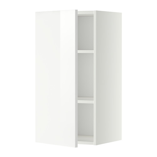 METOD - wall cabinet with shelves, white/Ringhult white | IKEA Hong Kong and Macau - PE345667_S4