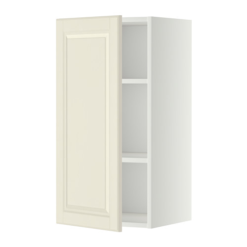METOD - wall cabinet with shelves, white/Bodbyn off-white | IKEA Hong Kong and Macau - PE345683_S4