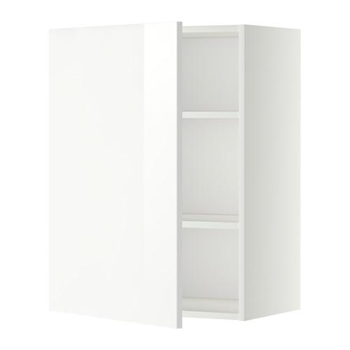 METOD - wall cabinet with shelves, white/Ringhult white   IKEA Hong Kong and Macau - PE345716_S4