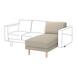 NORSBORG - 躺椅組合, Edum 米黃色/樺木   IKEA 香港及澳門 - PE675363_S3