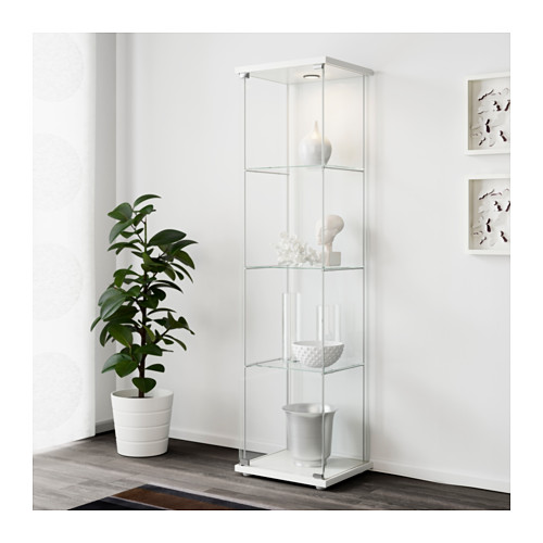 DETOLF - glass-door cabinet, white | IKEA Hong Kong and Macau - PE560695_S4