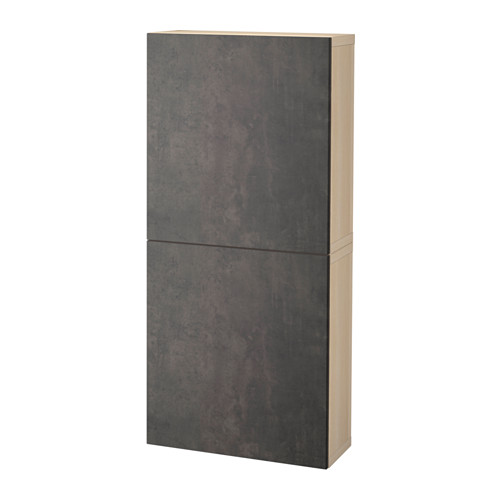 BESTÅ wall cabinet with 2 doors