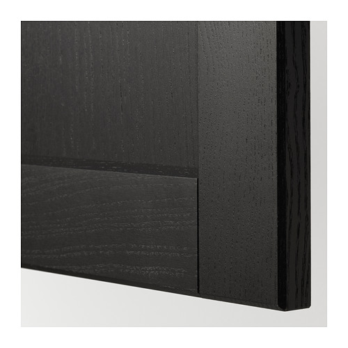 LERHYTTAN - door, black stained | IKEA Hong Kong and Macau - PE675491_S4