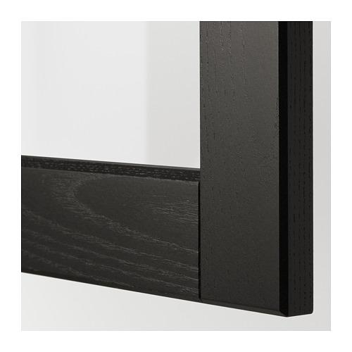 LERHYTTAN - glass door, black stained | IKEA Hong Kong and Macau - PE675495_S4