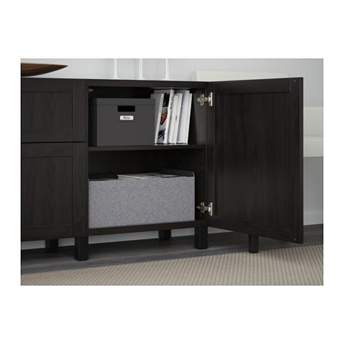 BESTÅ - storage combination with drawers, Hanviken/Stubbarp black-brown | IKEA Hong Kong and Macau - PE561072_S4