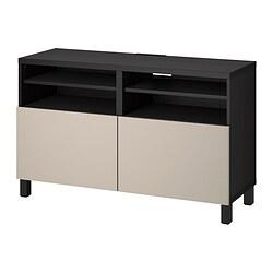 BESTÅ - 電視几連門, black-brown/Lappviken/Stubbarp light grey/beige | IKEA 香港及澳門 - PE820948_S3