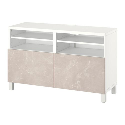 BESTÅ - 電視几連門, white/Bergsviken/Stubbarp beige   IKEA 香港及澳門 - PE820940_S4