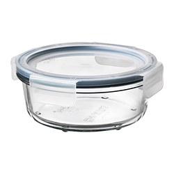 IKEA 365+ - 連蓋食物盒, 圓形 玻璃/塑膠, 400 毫升 | IKEA 香港及澳門 - PE675659_S3