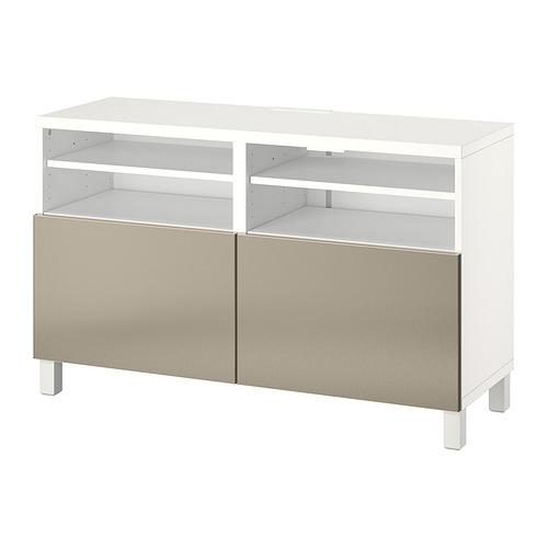 BESTÅ - 電視几連門, white/Riksviken/Stubbarp light bronze effect | IKEA 香港及澳門 - PE820929_S4
