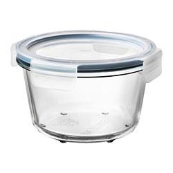 IKEA 365+ - 連蓋食物盒, 圓形 玻璃/塑膠, 600 毫升 | IKEA 香港及澳門 - PE675726_S3