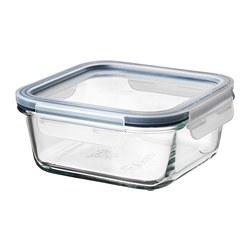 IKEA 365+ - 連蓋食物盒, 正方形 玻璃/塑膠, 600 毫升 | IKEA 香港及澳門 - PE675730_S3