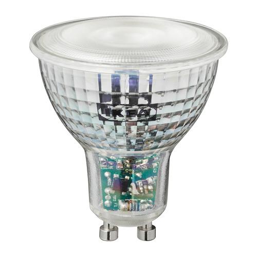 TRÅDFRI - LED燈膽 GU10 345流明, 無線調光 彩色/白光光譜 | IKEA 香港及澳門 - PE765627_S4
