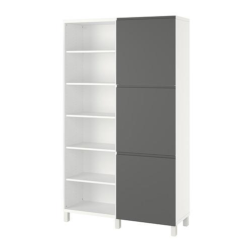 BESTÅ - storage combination with doors, white/Västerviken dark grey | IKEA Hong Kong and Macau - PE821058_S4