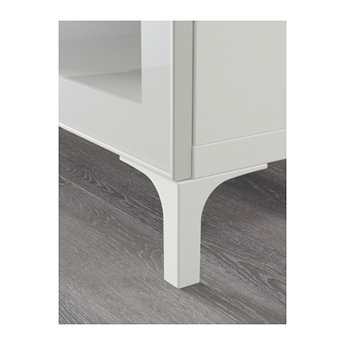 BESTÅ - TV bench with drawers, white/Selsviken high-gloss/white clear glass | IKEA Hong Kong and Macau - PE561430_S4