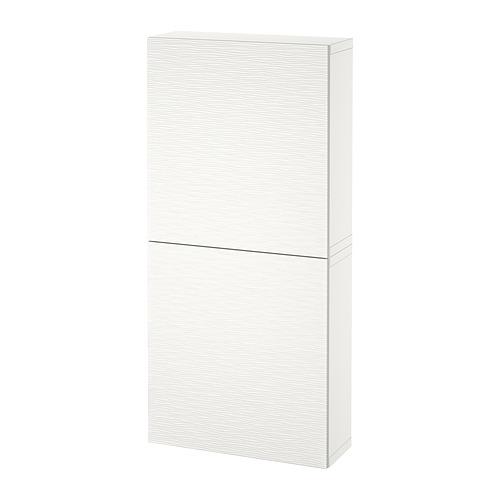 BESTÅ - 雙門吊櫃, 白色/Laxviken 白色   IKEA 香港及澳門 - PE821297_S4