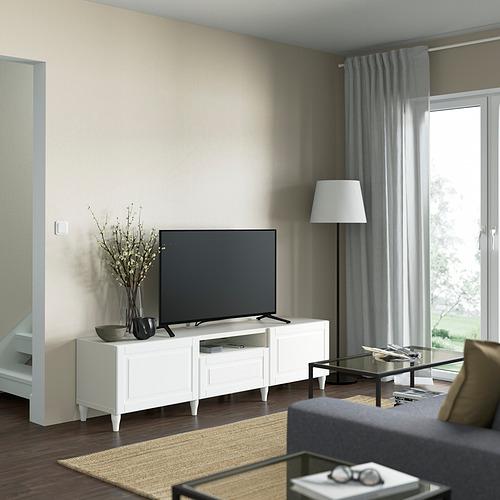 BESTÅ - TV bench, white/Smeviken/Kabbarp white | IKEA 香港及澳門 - PE821500_S4