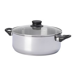 ANNONS - pot for hot pot 5L, glass/stainless steel | IKEA Hong Kong and Macau - PE675927_S3