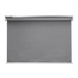 FYRTUR - block-out roller blind, 100x195cm, wireless/battery-operated grey | IKEA Hong Kong and Macau - PE675959_S3