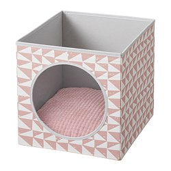LURVIG - cat house with cushion, pink/pink | IKEA Hong Kong and Macau - PE765910_S3