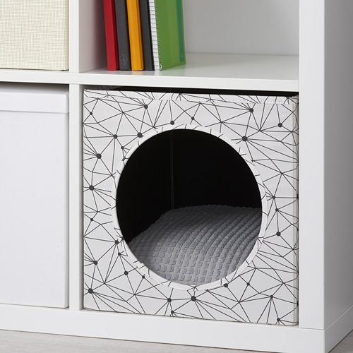 LURVIG - 貓屋套裝, 白色/淺灰色 | IKEA 香港及澳門 - PE765913_S4