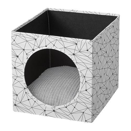 LURVIG - 貓屋套裝, 白色/淺灰色 | IKEA 香港及澳門 - PE765912_S4