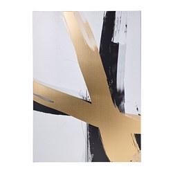 PJÄTTERYD - picture, golden brushstrokes   IKEA Hong Kong and Macau - PE821707_S3