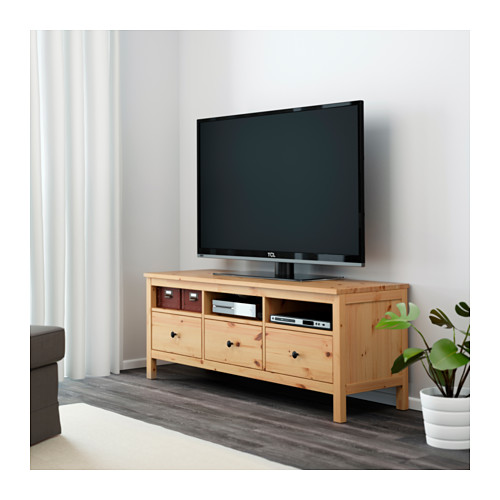 HEMNES - TV bench, light brown | IKEA Hong Kong and Macau - PE562004_S4