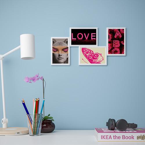 YLLEVAD - 藝術卡, 粉紅情迷   IKEA 香港及澳門 - PE821725_S4